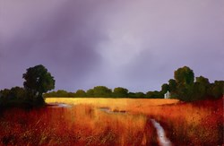 Enduring Light by Barry Hilton - Embellished Canvas on Board sized 26x17 inches. Available from Whitewall Galleries